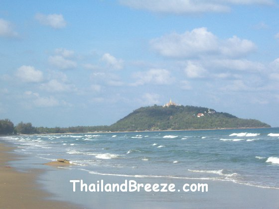 Ban Krut village is in the south of Thailand and sports a beautiful beach.