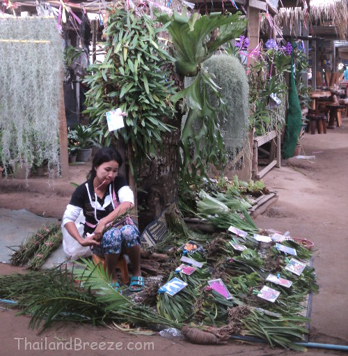 The border market at Dan Singkhon in Prachuap, Thailand.