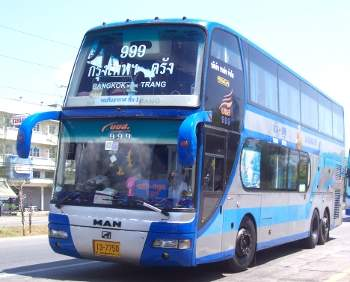 Thai buses are modern and reasonably priced
