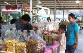 Food souvenirs are popular gifts in Thailand