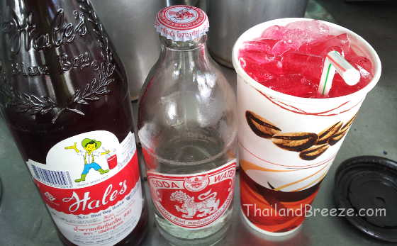 Red Hale's Blue Boy with soda is popular among Thais.