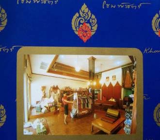 Khomapastr Thai hand-printed cotton is available in Hua Hin and Bangkok