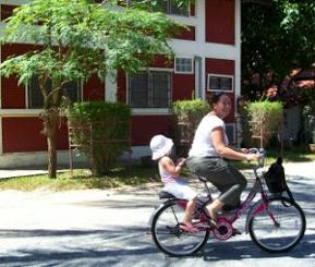 Bicycle holiday in Thailand