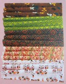 Khomapastr Thai hand-printed cotton features many designs