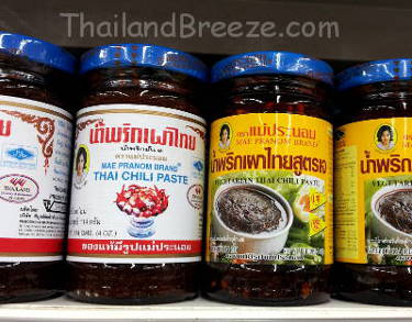 Thai chili paste for non-vegetarians and vegetarians.