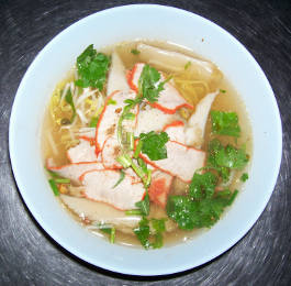 Thailand is the home of famous Thai egg noodle soups