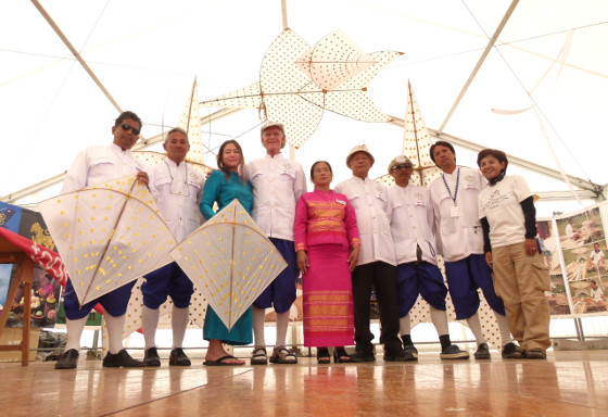 The Thai Kite Heritage Group helped introduce the <i>Chula</i> and <i>Pakpao</i> kite competition internationally