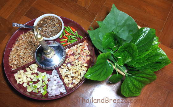 This herbal snack from Thailand is really fun to eat.