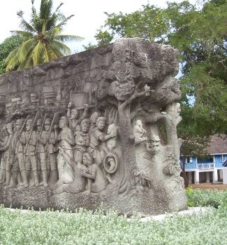 Second World War monument in Ao Manao, Thailand