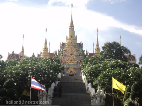 Wat Tang Sai in Ban Krut, Thailand.